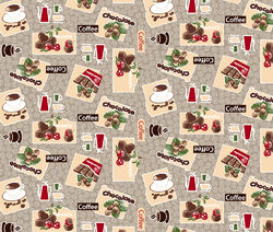 Шоколадный 1 Вафельное полотно