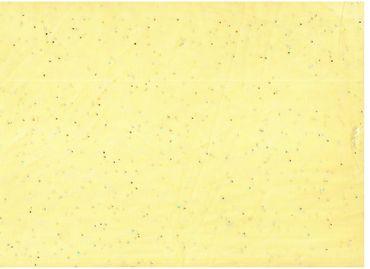 Сетка с блестками желтый