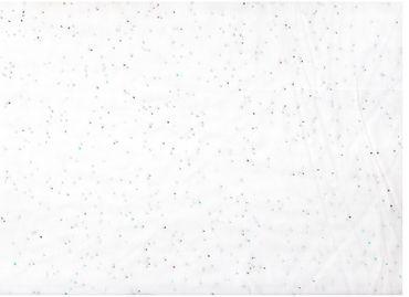 Сетка с блестками Белый