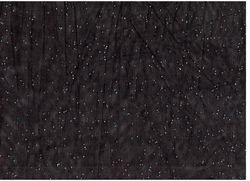 Сетка с блестками Черный