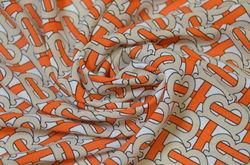 Буквы на молочном (оранжевый)