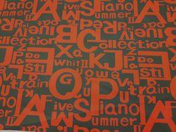 Красные буквы на черном