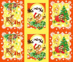 """Вафельное полотно """"Рождественские истории"""""""