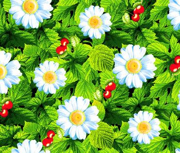 Жаркое лето Вафельное полотно