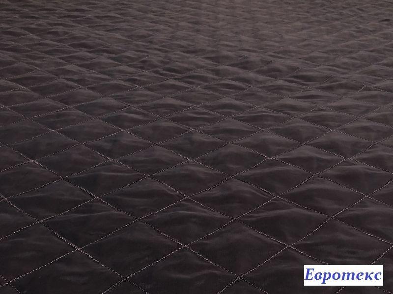Стежка на синтепоне ромб