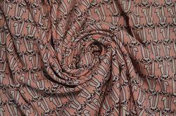 Сорочка набивная зайцы на розовом