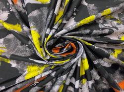 Камуфляж желто-оранжевые штрихи